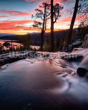 Lake Tahoe Sunrise wall mural thumbnail