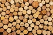 Wine Cork Wall wall mural thumbnail
