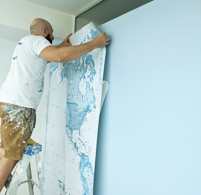 How to Hang Wallpaper like a Pro