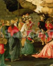 Adoration of the Magi, c.1470 (tempera on panel) wall mural thumbnail