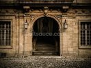 Stone Facade and Doorway wall mural thumbnail