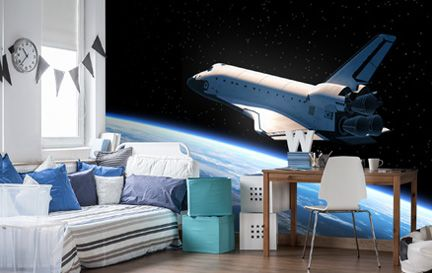 Rockets Wallpaper Space Rocket Wall Murals Wallsauce Australia