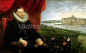 Albert of Habsbourg (1559-1621) Archduke of Austria (oil on canvas) (pair of 197173) mural wallpaper thumbnail