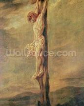 Christ on the Cross, c.1646 (oil on canvas) wall mural thumbnail