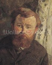 Portrait of Achille Granchi Taylor, 1885 (oil on canvas) mural wallpaper thumbnail
