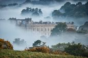 Chatsworth In The Mist wallpaper mural thumbnail