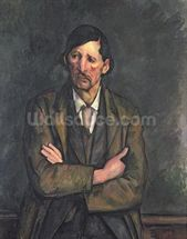 Man with Crossed Arms, c.1899 (oil on canvas) wall mural thumbnail