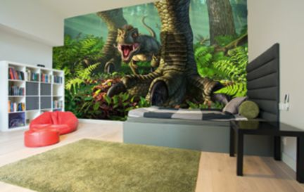 Dinosaur Wall Murals Wallpaper