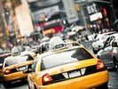 New York Taxis Cab wall mural thumbnail