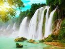 Waterfall wall mural thumbnail
