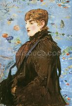 Autumn (Mery Laurent), 1882 (oil on canvas) wall mural thumbnail