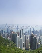 Victoria Peak Hong Kong wallpaper mural thumbnail