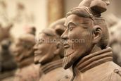 China Terracotta Warriors wallpaper mural thumbnail