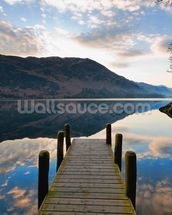 Ullswater Jetty mural wallpaper thumbnail