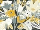 Vintage Bouquet Yellow wall mural thumbnail