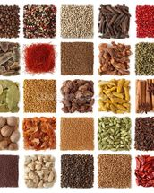Indian Spice Selection wall mural thumbnail