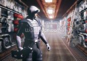 Space soldier wall mural thumbnail