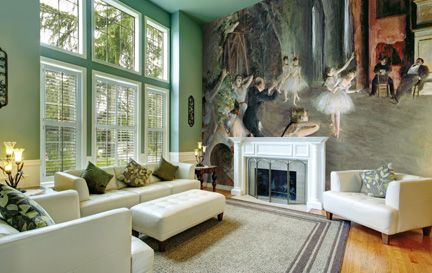 Degas, Edgar Wall Murals Wallpaper