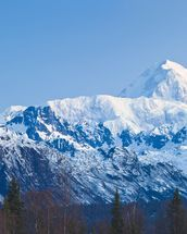 Panoramic View Of Southside Mount Mckinley mural wallpaper thumbnail