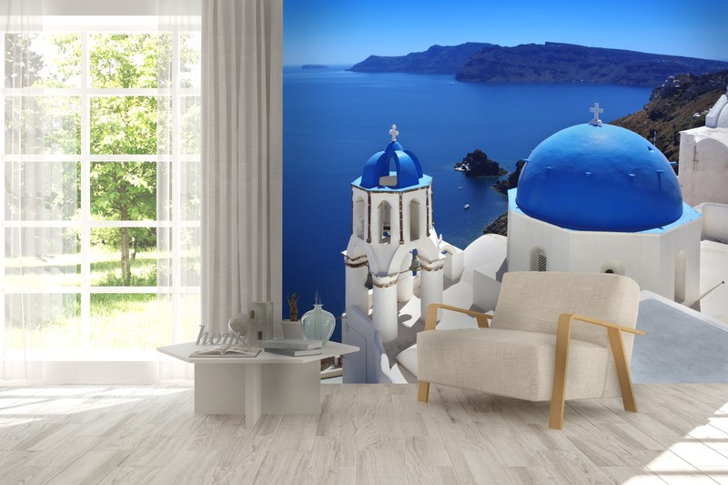 Wall Mural of Santorini, Greece