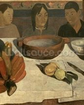 The Meal (The Bananas), 1891 (oil on canvas) wall mural thumbnail