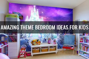 Amazing Budget Theme Bedroom Ideas for Children