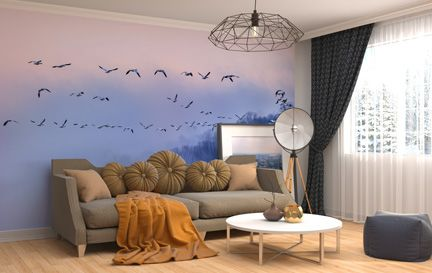 Bird Wallpaper Wallpaper Murals