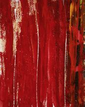 Red Study 1 - Abstract Painting In Red wall mural thumbnail