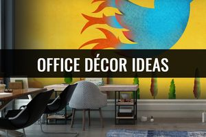 Get Rid of Dull Office Décor