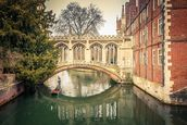 Bridge over River, Cambridge wallpaper mural thumbnail