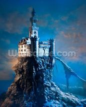Mysterious Castle mural wallpaper thumbnail