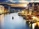 Grand Canal at Night, Venice wall mural thumbnail