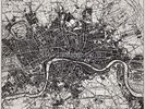 Historical Map of London wall mural thumbnail