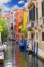Venetian Houses wallpaper mural thumbnail