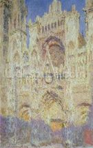 Rouen Cathedral at Sunset, 1894 mural wallpaper thumbnail