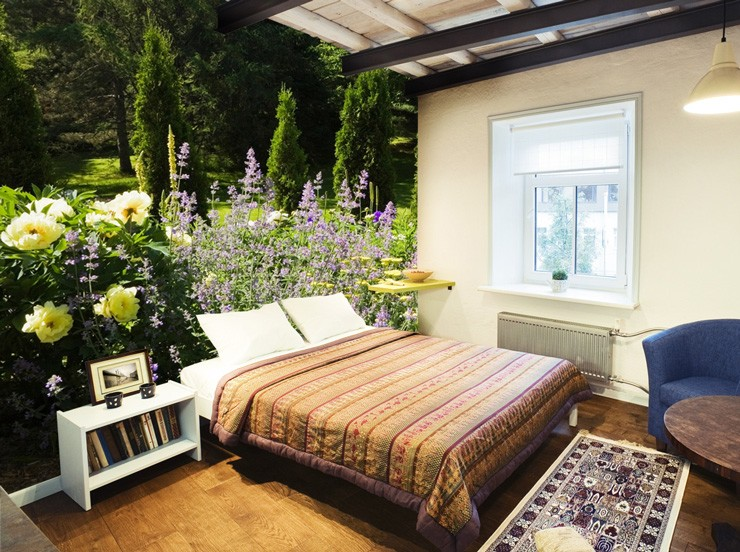 garden-wall-mural-in-bedroom