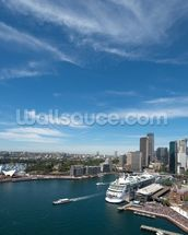 Sydney Skyline and Opera House wall mural thumbnail