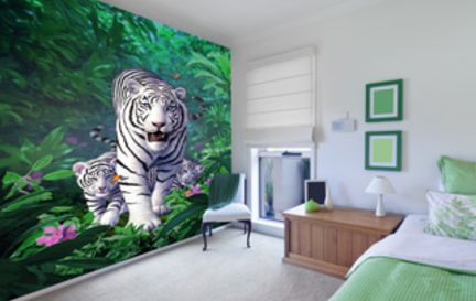 tiger wallpaper murals tiger wall murals wallsauce usa pin tiger wall mural for living room decor cute wallpaper