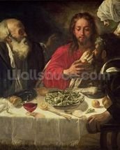 The Supper at Emmaus, c.1614-21 wall mural thumbnail
