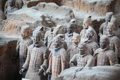 Terracotta Warriors, Xian mural wallpaper thumbnail