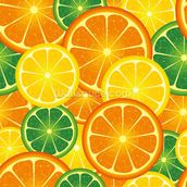 Citrus Fruits wallpaper mural thumbnail