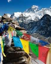 Mt Everest mural wallpaper thumbnail