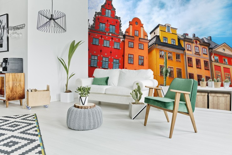 Window-mural-wallpaper-of-Stockholm