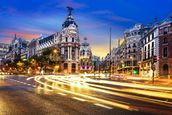 Madrid City Centre wallpaper mural thumbnail