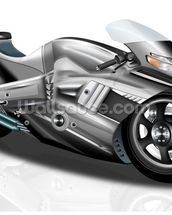 Superbike Concept mural wallpaper thumbnail