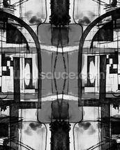 Abstract Grey wall mural thumbnail