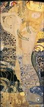 Water Serpents I, 1904-07 (oil on canvas) wallpaper mural thumbnail