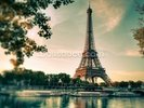 Tour Eiffel Paris France wall mural thumbnail
