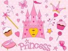 Princess Castle wall mural thumbnail