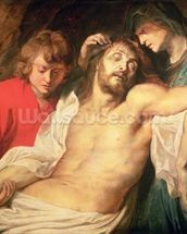 Lament of Christ by the Virgin and St. John, 1614/15 (panel) wallpaper mural thumbnail